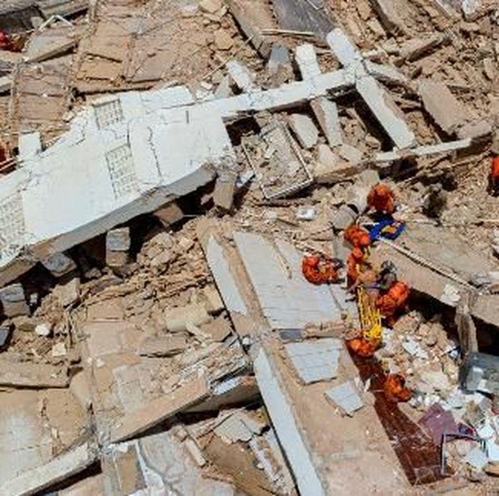 Saat Foto Selfie Selamatkan Korban Bangunan Runtuh di Brasil
