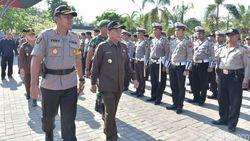 Ratusan Polisi Lamongan Disiagakan Jelang Pelantikan Presiden