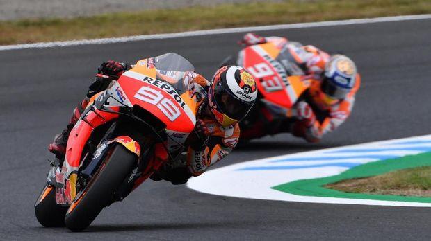 Jorge Lorenzo kesulitan beradaptasi di Repsol Honda.