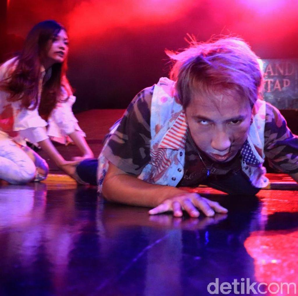 Foto: Siap-siap Diteror Zombie di Trans Studio Bandung