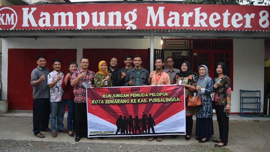 Resign dari Kemenkeu, Pria Ini Gagas Kampung Marketer di Purbalingga