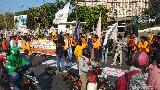 Mahasiswa Makassar Turun ke Jalan Tuntut Jokowi Terbitkan Perppu KPK