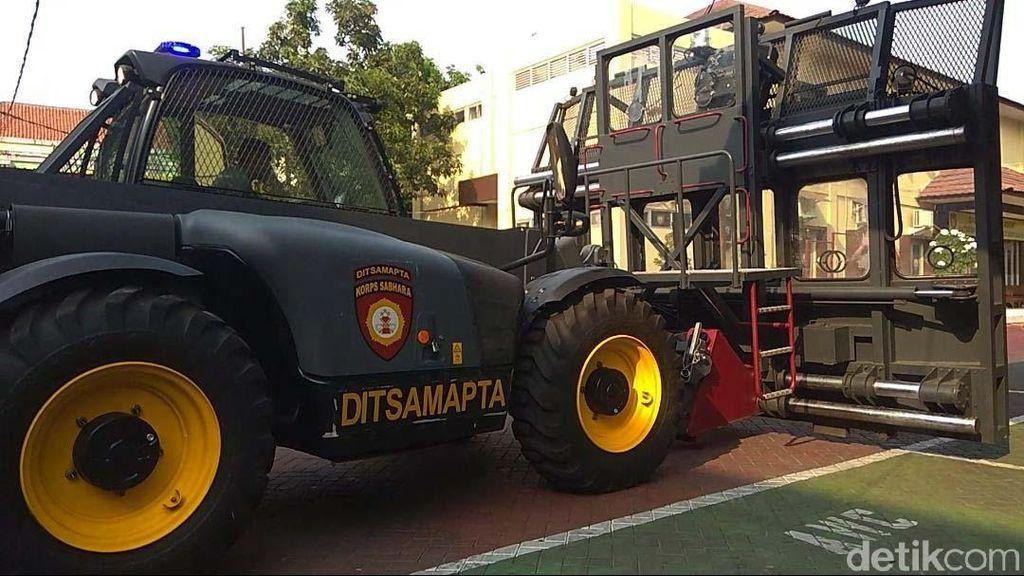 Jelang Pelantikan Presiden, Polrestabes Surabaya Siapkan Kendaraan Ini