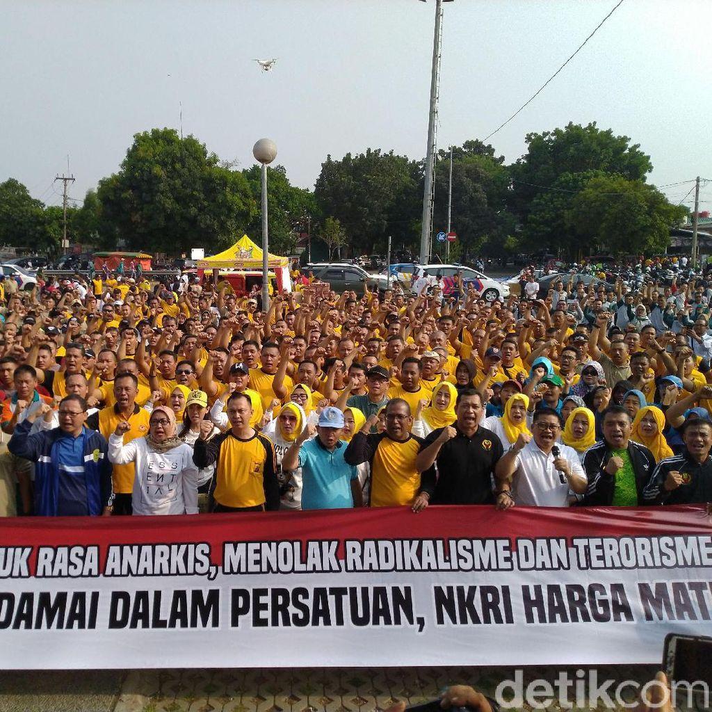Jelang Pelantikan Jokowi, Bupati-Masyarakat Bogor Deklarasi Damai