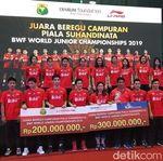 Juara di Kazan, Tim Bulutangkis U-19 Dapat Bonus Rp 500 Juta