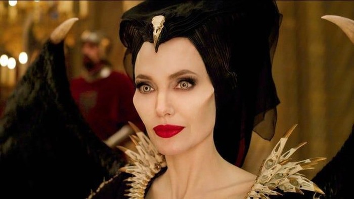 Angelina Jolie di film Mistress of Evil. Foto: istimewa