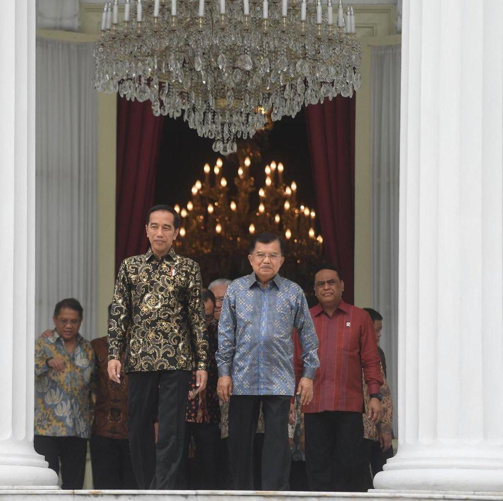 Jokowi Ungkap Momen Spesial Bersama JK Selama 5 Tahun