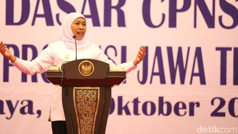Jokowi Dilantik Besok, Ini Harapan Gubernur Khofifah