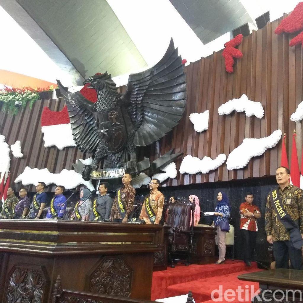 MPR Gelar Geladi Kotor Upacara Pelantikan Jokowi-Maruf