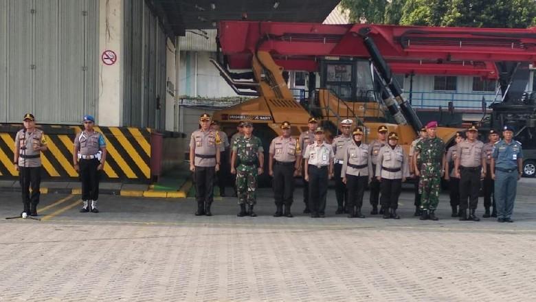 Cegah Massa Saat Pelantikan Presiden, Polisi Jaga Ketat Pelabuhan Tj Priok