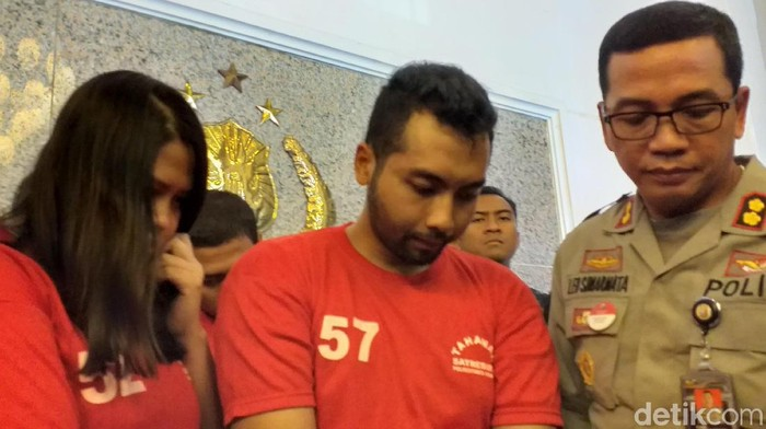 Bambang Irawan yang awalnya menculik hanya untuk menakuti korban (Foto: Amir Baihaqi)