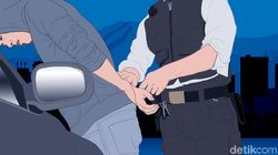 Ditangkap Curi Helm, Pria di Makassar Pantun: Ubur-ubur Makan Mi, Umurunu Mi