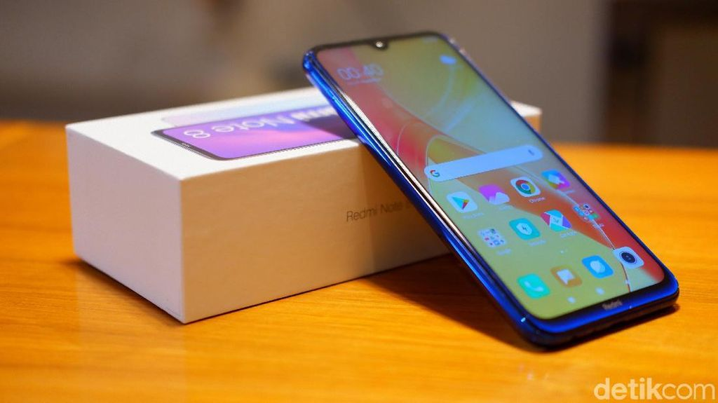 Unboxing Redmi Note 8,  Ponsel Lima Kamera Harga Rp 1,999 Juta