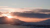 Matahari yang tak terbenam di Tromso