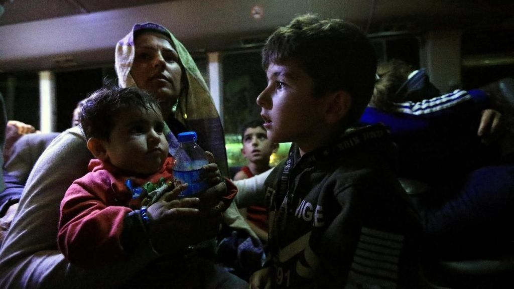 Kabur dari Gempuran Turki di Suriah, Lebih dari 2.300 Orang Ngungsi ke Irak