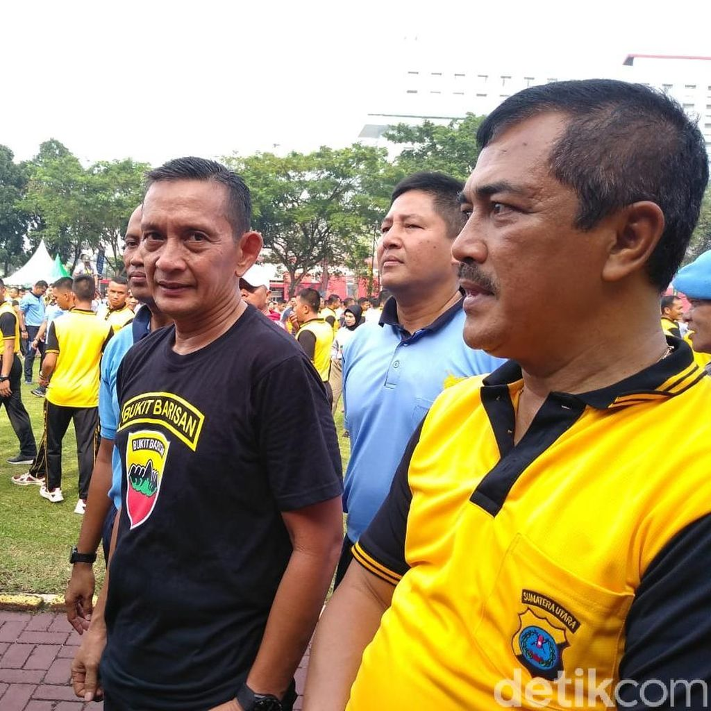 Polri-TNI di Sumut Solid Amankan Wilayah Jelang Pelantikan Presiden