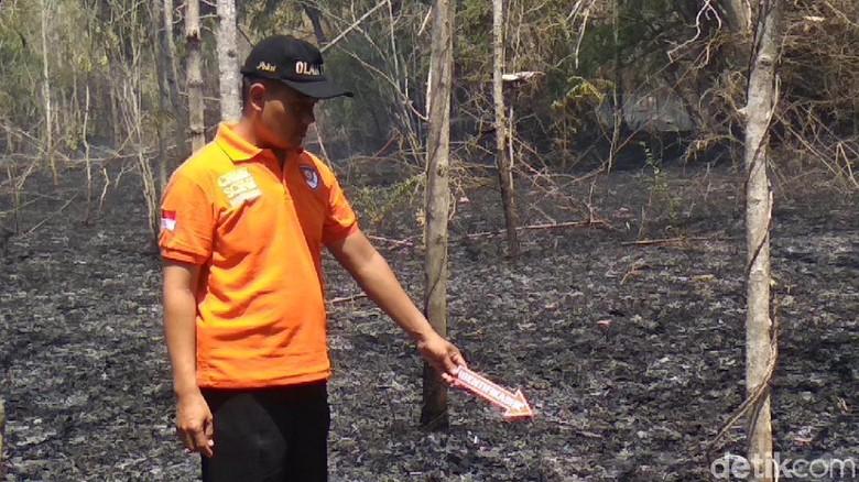 Seorang Kakek Ditemukan Tewas di Area Kebakaran Lahan di Rembang