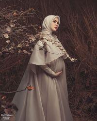 Kartika Putri ketika saat mengandung.