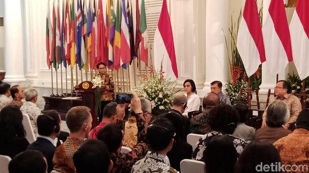 JK Resmikan Lembaga Kerja Sama Pembangunan Internasional Indonesia