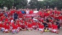 SSB Taruna Merah Putih, Komitmen Maruarar Sirat ke Sepakbola Usia Dini