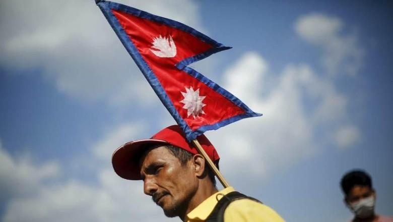 Bendera Nepal (Reuters)