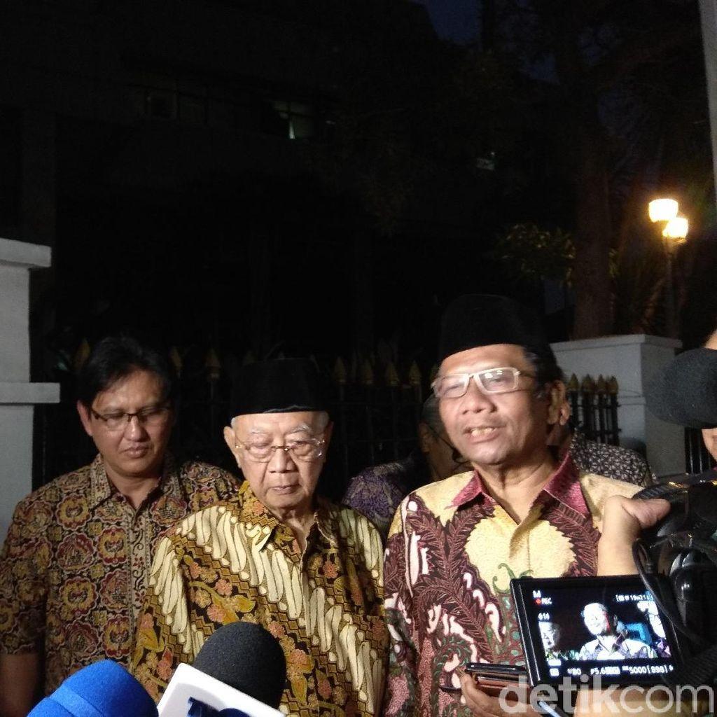 Mahfud Md: JK Sinergi Baik dengan Jokowi, Indonesia di Jalan yang Selamat