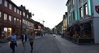 Pukul 23.00 di Tromso