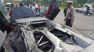 Polisi: Lamborghini Batman yang Terbakar di Sentul Alami Overheat