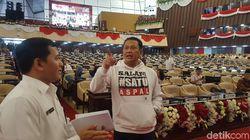 Pimpinan MPR Hadiri Acara Geladi Bersih Pelantikan Presiden-Wapres