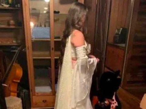 Pamer Dada & Perut di Pernikahan, Pengantin Dikritik Seperti Penari Striptis