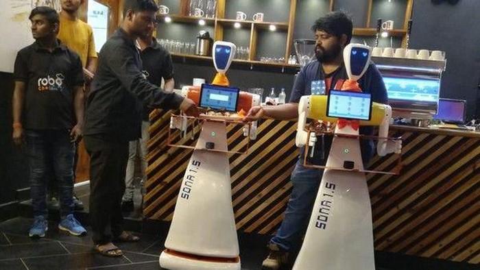 Robo Chef. (Foto: Dok. ANI News/Robo Chef)