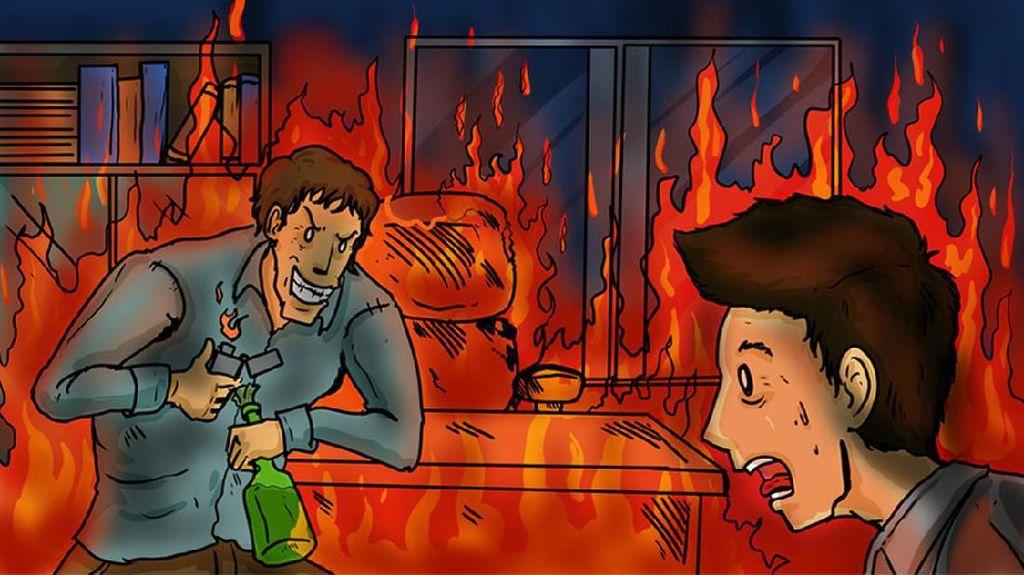 Kenapa Seseorang Membakar Sebuah Gedung?