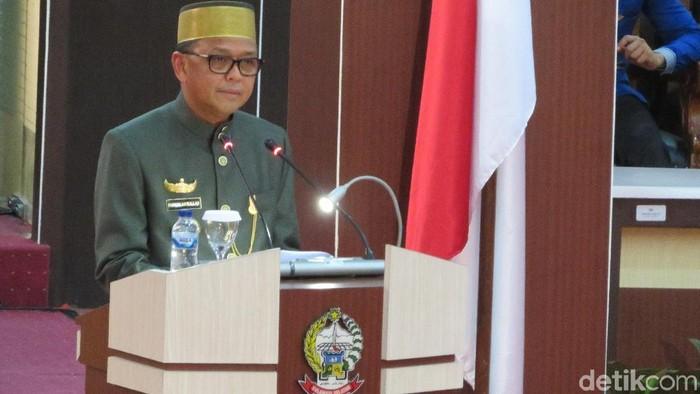 Gubernur Sulsel Nurdin Abdullah /Foto: Noval Dwhinuari Anthony/ detikcom