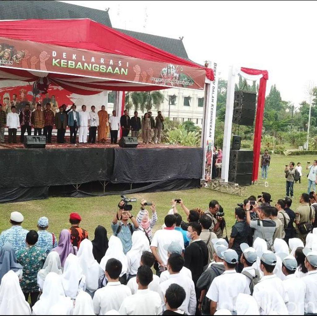 Warga Jambi Bareng TNI-Polri Doa Bersama Jelang Pelantikan Presiden