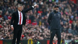Liverpool Vs MU: Ini Head-to-head Klopp Lawan Solskjaer