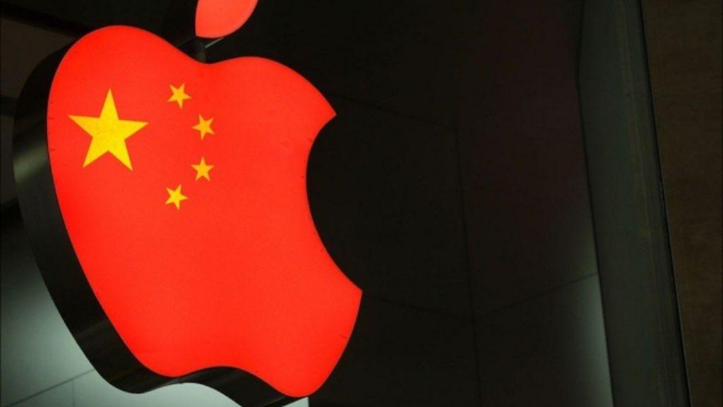 Antara Hong Kong, Apple, dan Tiongkok
