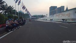 Petugas Keamanan MPR Kerja 7 Hari Penuh Kawal Pelantikan Jokowi