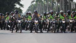 TNI-Polri Patroli Skala Besar di Bekasi Jelang Pelantikan Presiden