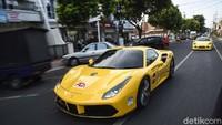 Touring ini diikuti berbagai merek mobil sport seperti Ferrari, Porsche dan Lamborghini.