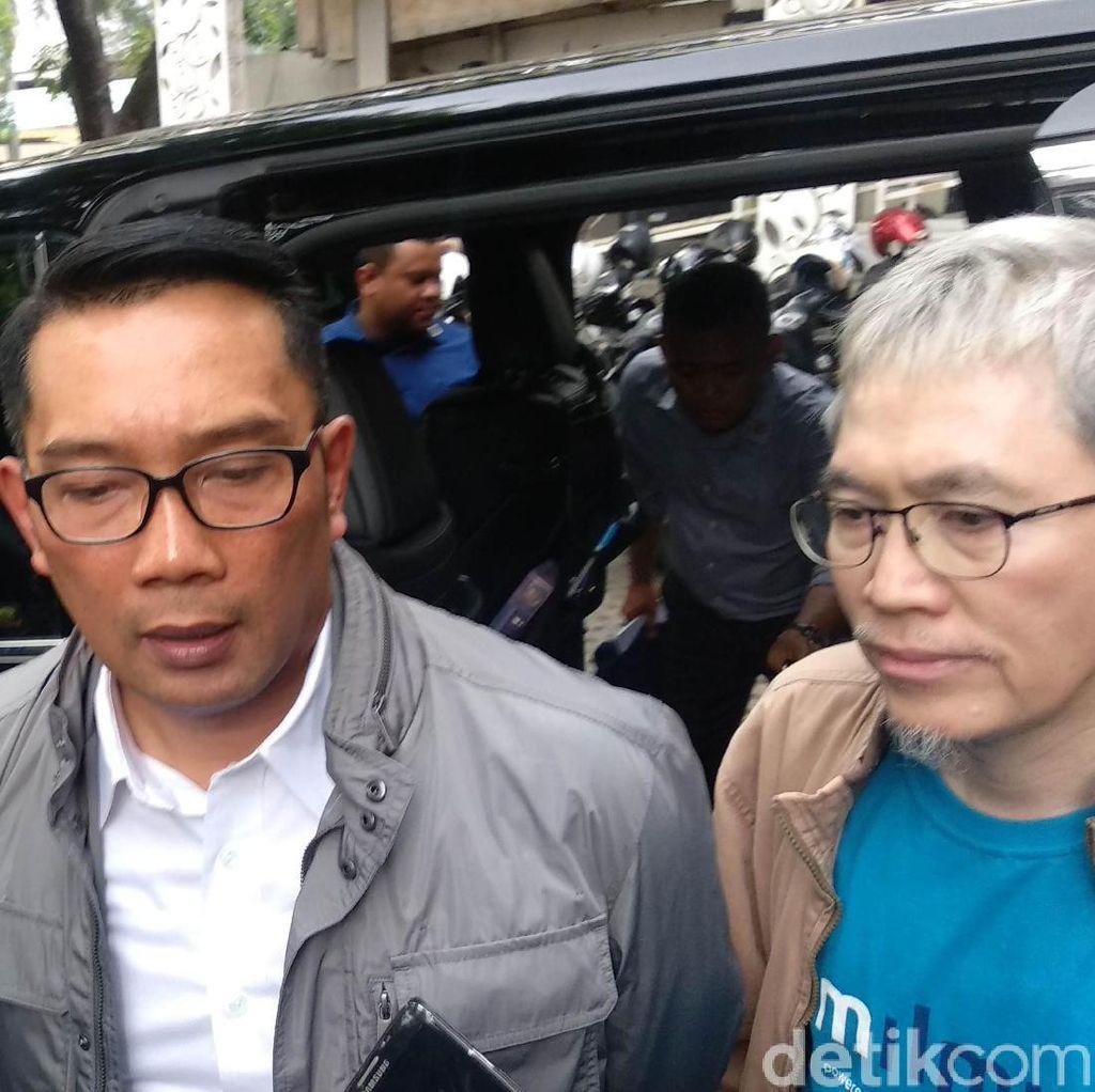 Akan Hadiri Pelantikan Jokowi-Maruf, Ridwan Kamil: Mari Kita Dukung
