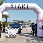 Ewako! 100 Mobil Ikuti Fun Trip Avanza-Veloz Sebangsa di Makassar