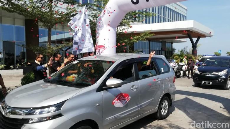 Toyota Avanza Veloz Sebangsa di Makassar Foto: Rizki Pratama