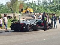 Lamborghini Raffi Ahmad yang Terbakar Tak Pakai Pelat Nomor
