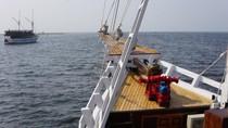 Berlayar di Laut Jakarta dengan Kapal Pinisi? Bisa Kok