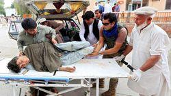 Penampakan Korban Bom di Masjid Afghanistan saat Salat Jumat