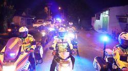 Polisi dan TNI di Ponorogo Patroli Bareng Jelang Pelantikan Presiden