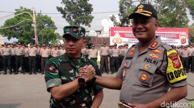 Cianjur-Sukabumi Apel Gabungan Jelang Pelantikan Presiden