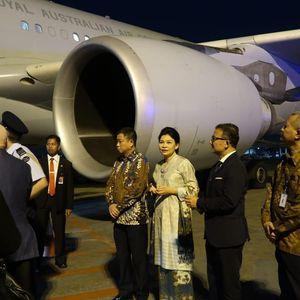 Momen Jonan Jemput PM Australia di Hari Terakhir Kabinet Kerja