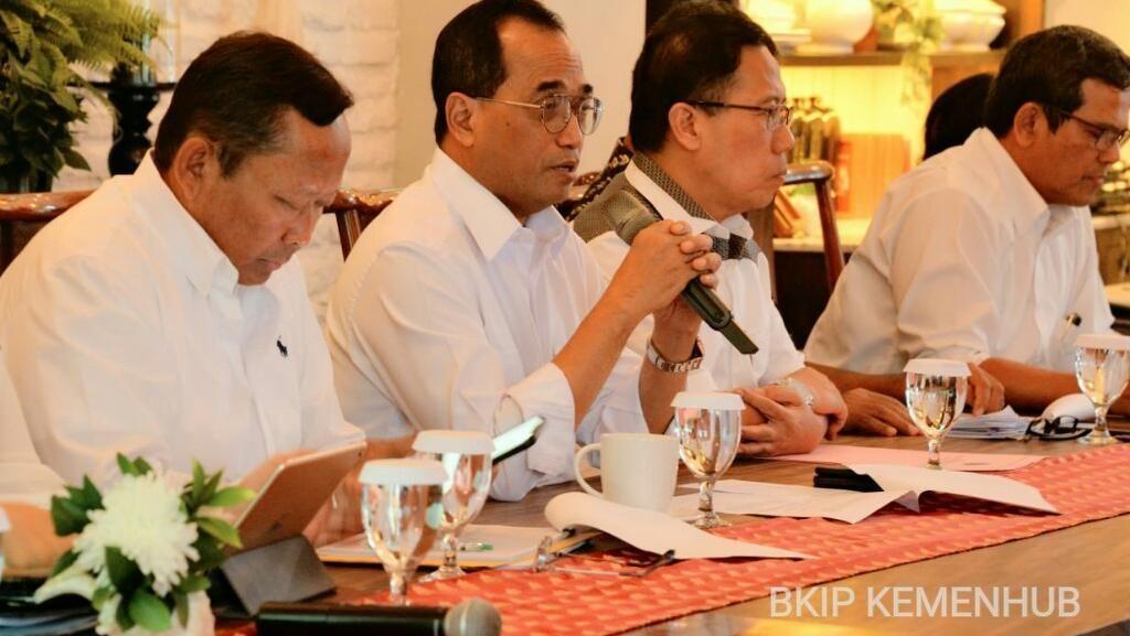 Kinerja 3 Tahun, Menhub: Indonesia Sentris Buka Ruang Ekonomi Baru