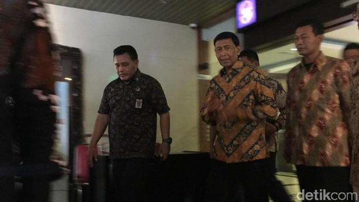 Foto: Wiranto di Kemenko Polhukam (Arief/detikcom)